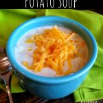 Crock Pot Potato Soup Recipe... Super good! I added a little salt and pepper and some garlic powder and a bag of real bacon pieces! I think it made it better