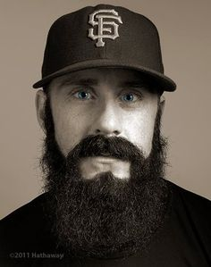 Brian Wilson... one of Chance's favorite baseball players