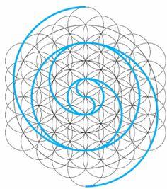 El antiquísimo símbolo del #YinYang, es también una forma de espiral que carece de principio y fin.