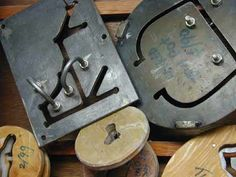 tools•PlumTreePottery Tools And Equipment, Cool Tools, Stamps, Pottery, Cool Stuff, Ceramic Workshop, Mud, Simple, Seals