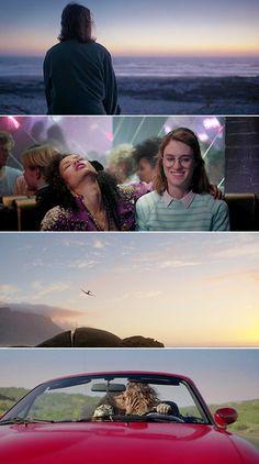 "killblll: "" Black Mirror - San Junipero Directed by Owen Harris "" Love Tv Series, Best Series, Black Mirror Show, Black Mirror San Junipero, Mackenzie Davis, Story Tale, American Gods, Body Electric, Netflix Series"