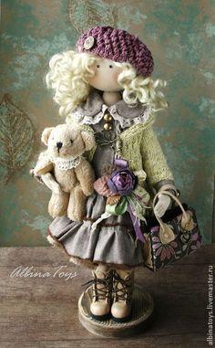 Коллекционные куклы ручной работы. Ярмарка Мастеров - ручная работа Иоланда. По мотивам. Handmade.