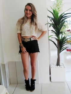 Hot pant + cropped