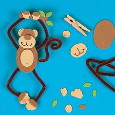 25 Mischievous Monkey Crafts for Kids | Monkey crafts and Summer ...