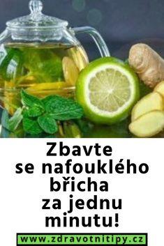 Zbavte se nafouklého břicha za jednu minutu! Cucumber, Health, Fitness, Food, Health Care, Essen, Meals, Yemek, Zucchini