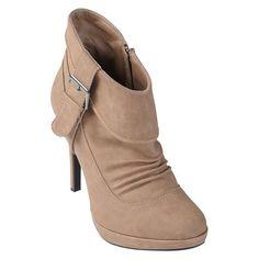 Journee Collection Women Heel Ankle Boot