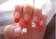 uñas kitty