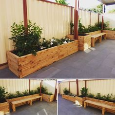 Custom ModBOX designed and installed by @daleparkville. Any garden design is possible with the ModBOX interlocking system. #modbox #raisedbeds #landscaping #melboune #australia #custommodbox