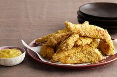 Sweet Curry Chicken Fingers