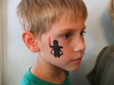Face Paint!   Easy to do and kids love it. #LegoDuploParty