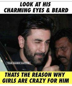 Yeahh Charming Eyes, Rishi Kapoor, Girly Quotes, Alia Bhatt, Ranbir Kapoor, Bollywood Stars, Bollywood Celebrities, Beard Styles, Prince Charming