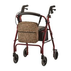 Mobility Bag for Wheelchairs and Walkers | Nova. Mobility Bagsfor Wheelchairs and Walkers  Nova Mobility Bag for Wheelchairs and Walkers from PRO2 Medical Supply Shop features a sturdy designed bag with plentyof pockets and multiple attachment options. Secures easily to wheelchairs, walkers or transport chairs to carry patient belongings.    Mobility Walker and Wheelchair Tote Bag Video Mobility Bag Features  Securely attaches to rolling walkers, folding walkers, transport chairs and...