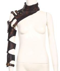 RQ-BL Armband Halsschmuck braun Steampunk Schmuck Arm Gothic steam brown WGT NEU | eBay