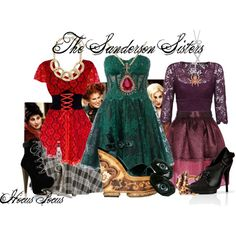 The Sanderson Sisters - Hocus Pocus