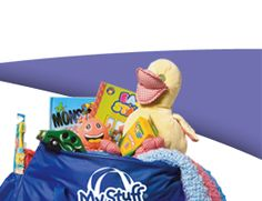 My Stuff Bags provides needed items and comfort items to children who have to be removed from their homes.