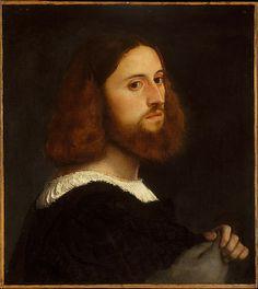 Portrait of a Man  Titian  c1515