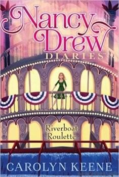Nancy Drew Diaries: Riverboat Roulette by Carolyn Keene. Nancy and her friends only have a few hours to track down the donations for a charity gala that have mysteriously gone missing. Nancy Drew Diaries, World Series Of Poker, Roulette, Nancy Drew Books, Diary Book, Mystery Series, Chapter Books, Used Books, Love Book