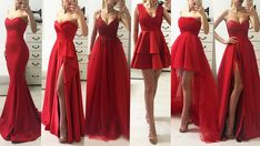 Rochii Rosii Seara Lungi Modele AngeAtelier Bridesmaid Dresses, Prom Dresses, Wedding Dresses, Red Satin Prom Dress, Dance Dresses, Formal Wear, Homecoming, Summer Outfits, Gowns