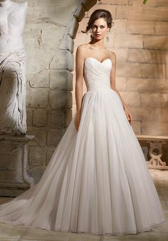 Blu by Mori Lee 5364 Bridal Outlet Of America sells brand new designer wedding gowns at discount prices. All of our gowns are under $1000 and are 30% to 80% off retail.
