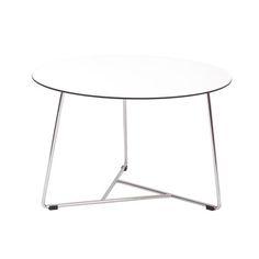 Tavolinetto da salotto Ellipse ST, bianco