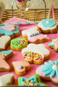 gingerbread birthday cookies
