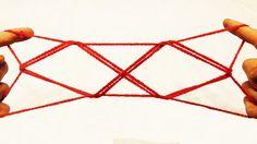 Fun Doubled Diamonds String Figure/String Trick