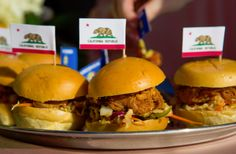 Pulled Pork Sliders I La Jolla Woman's Club Venue I San Diego Wedding I Full Service Catering