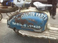 Cornwall Scooter Parts - Series 2 Lambretta side panel