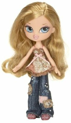 Bratz Kidz Doll- Cloe by MGA Entertainment. $40.00. Painted finger and toenails. Mix and match outfits and accessories. Articulated shoulders, legs and knees. Recommended age range 6 to 10 years. Incredible detail ensures fun collectibles. From the Manufacturer Bratz Babyz grow into Bratz Kidz before they become Bratz! Bratz Kidz are diamonds in the rough--they're spunky, adventurous and cool, and they don't back down ¿cuz they're a little bit tough...
