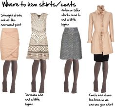 Where to End Your Skirts | Inside Out Style