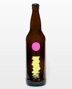 Omnipollo Fatamorgana label designed by Karl Grandin.