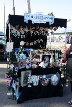 cute craft show display set up