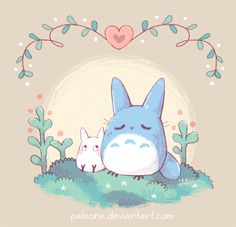 Just wanted to draw something small and cute today. It's been years since I've watched My Neighbor Totoro (maybe I'll do that tonight)~ Studio Ghibli has so many beautiful films, I adore the lush b...