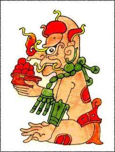Kauil, dios del fuego maya