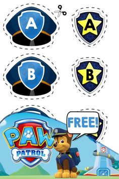 Free Printable Letter Matching Activity | Paw Patrol