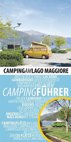 Campingführer für den lago Maggiore