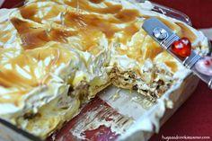 Vanilla Caramel Cookie Lasagna recipe - http://hugsandcookiesxoxo.com