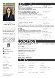 new resumes | New Resume | Lauren Fromin