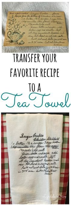 transfer-a-recipe-to-a-tea-towel