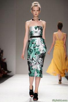 The Bibhu Mohapatra Spring 2014 RTW Collection is Light and Beautiful - Stylish Eve French Chic Fashion, Unique Fashion, Zuhair Murad, Zac Posen, Marchesa, Elie Saab, Runway Fashion, Fashion Show, Work Fashion