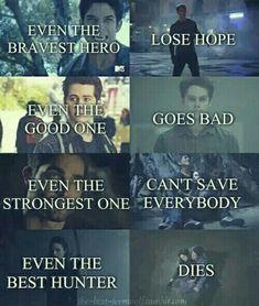 Scott, Stiles, Derek and Allison