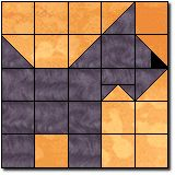 Scottie Quilt block template and instructions - could be blonde, longer legs and be Wheatens.