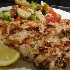 Chicken Kebab Plate - Saffron 685 - Zmenu, The Most Comprehensive Menu With Photos