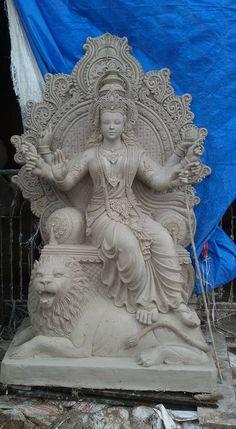 Saraswati Statue, Saraswati Goddess, Goddess Art, Durga Images, Ganesh Images, Krishna Painting, Krishna Art, Temple Drawing, Sculpture Art