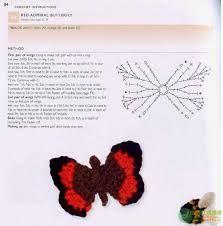 mariposa ganchillo patron - Buscar con Google