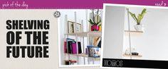 like the headline! Leaning Shelf, Clean Up, Shelving, Organization, Cool Stuff, Wall, Room, Home Decor, Shelves