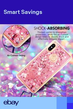 bff58586c For Xiaomi Redmi Note 5 Pro 4X 6A S2 Moving Quicksand Bling Soft TPU Case  Cover
