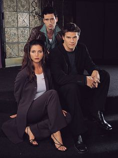 Angel, Doyle, & Cordelia