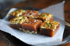 Salted Pumpkin Caramels recipe on Food52
