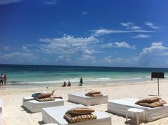 Cabanas Tulum Beach. So ready for the honeymoon!